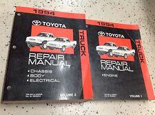 1994 Toyota Truck PICK UP Service Repair Shop Workshop Manual Set OEM Factory