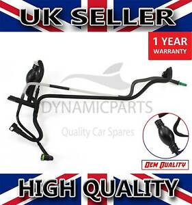 FOR FORD FIESTA MK5 FUSION 1.4 TDCI FUEL LINE PIPE TUBE WITH SENSOR 1501910