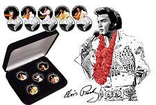 Elvis Presley - Aloha '35 Ltd Edition Quarters Coin Set with COA