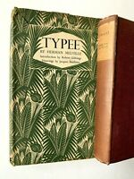 2 Vintage Herman Melville TYPEE 1950 HCDJ and OMOO 1950 and 1923