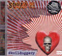 SQUAD 21 + CD + Skullduggery + High Energy Punkrock + Tolles Album mit 14 Songs
