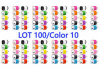lot 100 1A USB Power Adapter AC Home Wall Charger US Plug FIT iPhone 5 6 7