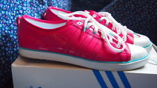 Adidas Originals Nizza Low Sleek Womens Shoes Size 8 Hot Pink Vintage Classic