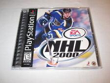 NHL 2000 (PlayStation PS1) Black Label Original Release Game Complete Excellent!