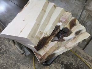 7 Stk Zirbenbretter gehobelt Bretter Baumkante Zirbenholz Regalbretter Zirbe