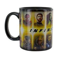 Official Marvel Avengers Infinity War Heat Change Mug Tea Coffee Cup