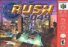***RUSH 2049 N64 NINTENDO 64 GAME COSMETIC WEAR~~~
