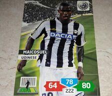 CARD ADRENALYN 2013/14 CALCIATORI PANINI UDINESE MAICOSUEL CALCIO FOOTBALL