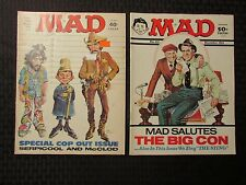 1974 MAD Magazine #169 Cop Issue #171 The Sting VG-/VG LOT of 2