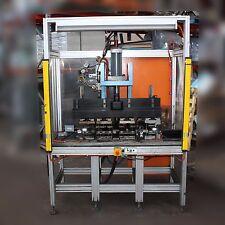Hydraulic Press machine plastic rubber Punch Notch wire strip feeder 4 station