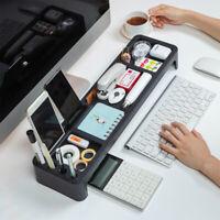 desktop Office Storage Box Stationery Organizer Keyboard Storage Box Pen Holder