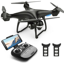 Holy Stone HS100 FPV Drone RC 3D VR 1080P WiFi Camera GPS Quadcopter 2 Battery