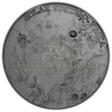 Niue Island 2018 1$ Solar System - Vesta NWA 4664 Meteorite 1oz Silver Coin