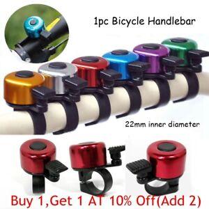 Bike Safety Bell Metal Ring Cycling Bicycle Handlebar Rings Horn MTB Alarm