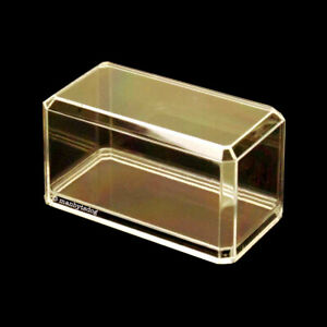 NEW 12-Pack 1:64 SCALE CRYSTAL CLEAR ACRYLIC DISPLAY CASES MATCHBOX HOT WHEELS