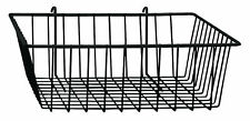 Black Mini Wire Grid Basket for Wire Grid (Grid Wall Basket) - 5 Included