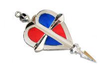 New Ao no Exorcist Cosplay Badge Breastpin Brooch Pin Blue Free Shipping