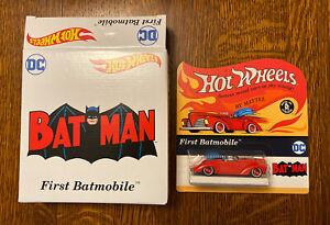 Mattel Hot Wheels DC Batman 1st Appearance Batmobile - SDCC 2021 - In Hand! New