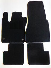 Fußmatten Automatten für Renault Twingo 2  Bj.2007- 08/2014 schwarz