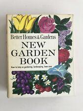 Vintage 1966 Better Homes & Gardens New Garden Book Hardcover Book 5 Ring Binder