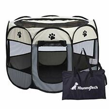 XianghuangTechnology Soft Fabric Portable Foldable Pet Dog Cat Puppy Playpen,