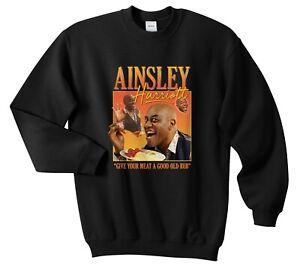 Ainsley Harriott Homage Jumper Sweater Funny UK TV Cook Meme Tribute Gift 90's