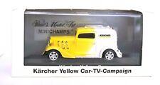 "AMERICAN HOT ROD "" KARCHER "" YELLOW CAR MINICHAMPS 1/43 SCALE PAULS MODEL ART"