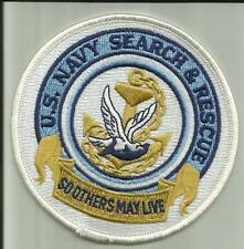 """US.NAVY SEARCH & RESCUE PATCH 4"""" HELO MEDIC SAILOR MILITARY HELICOPTER CORPMAN"""