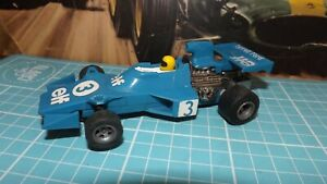 SCALEXTRIC TYRRELL 007 F1 Car With New Rear Tyres !