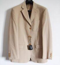 giacca uomo GB PEDRINI jacket coat men beige suit cotton Sartoriale Classic 50