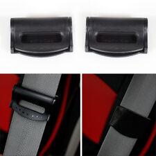 2x Car Seat Belt Adjuster Clip Comfort Belt Strap Clamp Shoulder Safty Improves