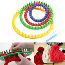 Classical Quality Round Circle Hat Knitter Knitting Knit Loom Kit 4 Sizes New