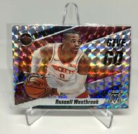 Russell Westbrook 2019-20 Mosaic Give And Go Silver Prizm Card #11