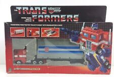Optimus Prime  G1 CEJI RED FOOT Transformer Complete with Box [OPRFT21]