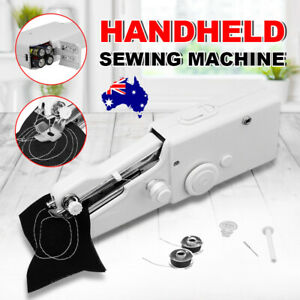Mini Cordless Sewing Machine Portable Hand Held Home Clothes Stitching Crafting