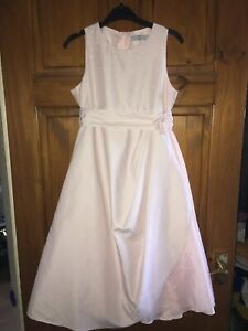 Pearce Fiona Shell Pink Flower Girls Bridesmaid Occasion Dress Age 9 Years