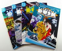 DC NATHANIEL DUSK (1984) #1-4 COMPLETE VF (8.0) to VF/NM (9.0) Ships FREE!