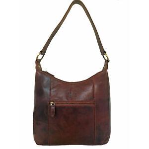 Over 45% Off Rowallan Women's Brown Leather Handbag