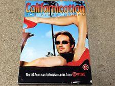 * DVD TV NEW * CALIFORNICATION THE FIRST SEASON * box dam