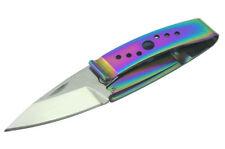 Sanrenmu WL3-613 8Cr13mov Blade Money Clip Folding Knife Color titanium coating