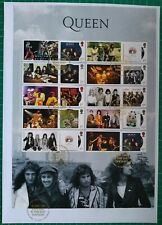 More details for 2020 queen album covers collectors smiler sheet fdc tallents house postmark