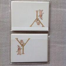 Kate Greenaway Alphabet Notecards. Metropolitan Museum of Art. Letter Y