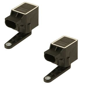 For BMW E39 E46 E61 5 3 7 Series Set of 2 Headlight Level Sensors 37146784697