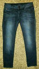 Hudson New Dark Wash Patch Pocket Straight leg Jeans ~ 28 x 27