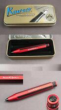 Kaweco CARBONIO Sport Matita meccanica in alluminio colore rosso #