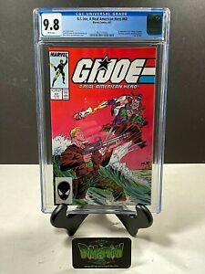 GI JOE A REAL AMERICAN HERO #60 CGC GRADED 9.8 1ST APPEARANCES MCFARLANE 1987
