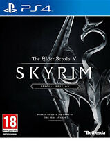 THE ELDER SCROLLS SKYRIM V 5 PS4 BRAND NEW FAST DELIVERY!