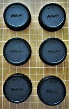 6 X Nikon style Rear Lens Caps for All Nikon F-mount lenses Fast U.S. Shipping!