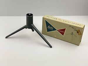 Vintage Ernst Leitz Wetzlar 14100 Gunmetal Grey TOOUG Tabletop Tripod With Box