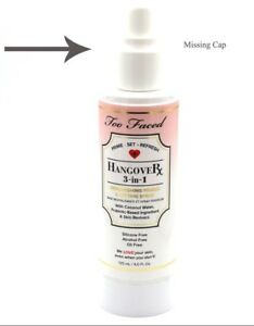 Too Faced Hangover 3 In 1 Replenishing Primer And Setting Spray Full Size 4 oz